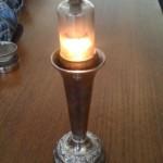 Vacuum Tube Candlestick