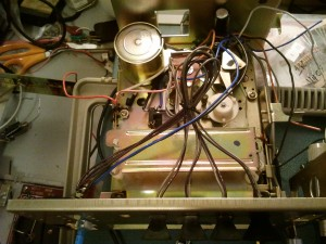 Lloyd's 8 track unit top view