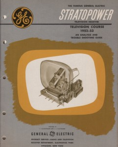 Stratopower Television Course manual cover