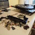BSR Record Changer - Gutted