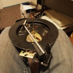 Record player, chopped