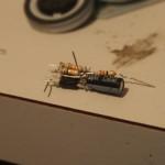 Circuit dead-bugged