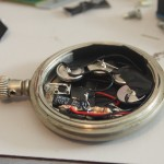 Assembled and mounted circuit