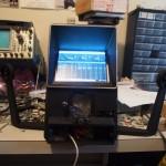 PCsr screen mounted