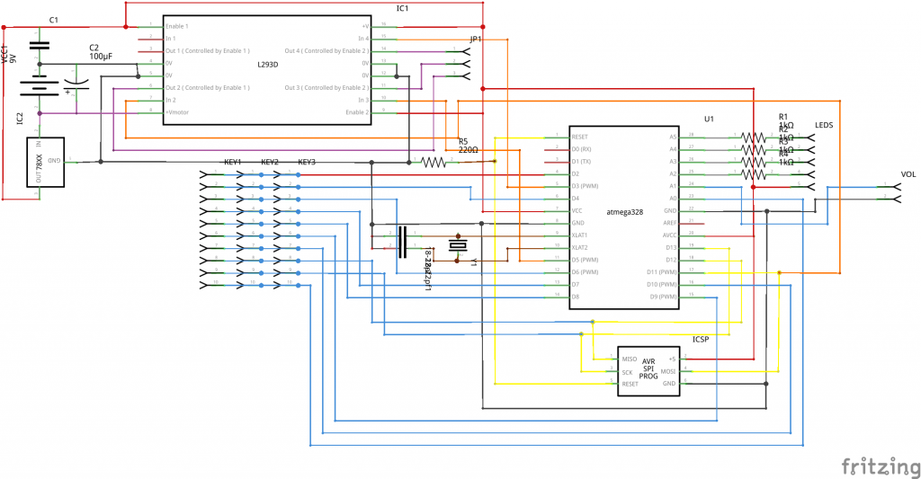 Nielsen speaker schematic