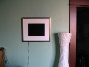 Picture Frame In Situ