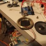 Piezo transducer mounted