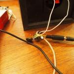 Dead-bugged amp